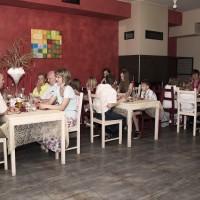 Vyzdobená restaurace