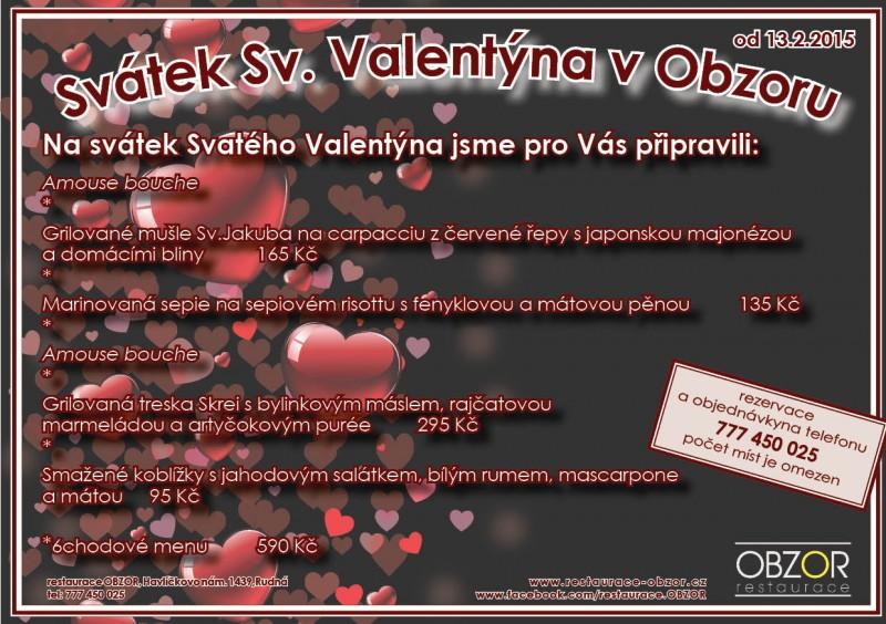 Svatý Valentýn v Obzoru